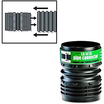 Universal Flexible Corrugated Pipe Connector 4 Inch
