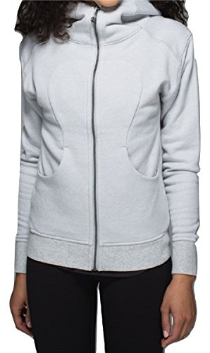 Lululemon On The Daily Hoodie (8, Heathered Medium Grey) (Hoodie Lululemon)