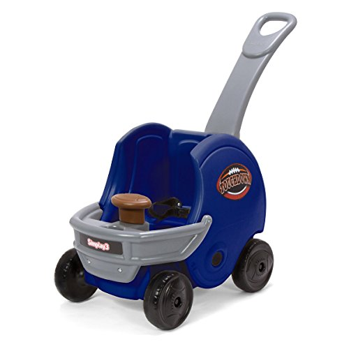 Simplay3 Game Day Push About Helmet Toddler Buggy, Blue by Simplay3