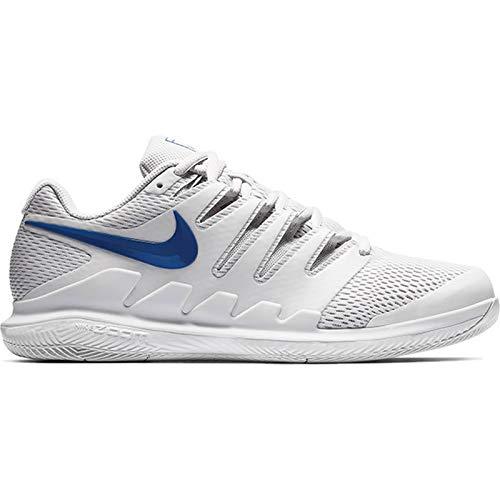 Nike Men's AIR Zoom Vapor X HC, VAST Grey/Indigo Force-Indigo Force, Size 10.5