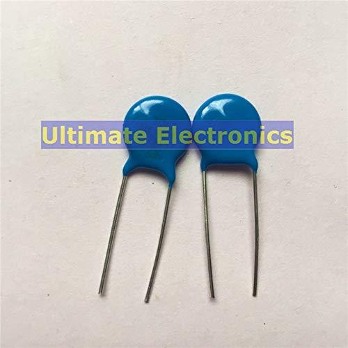 Mustwell 50pcs Varistors 10D221K 220V Metal Voltage Dependent Resistor