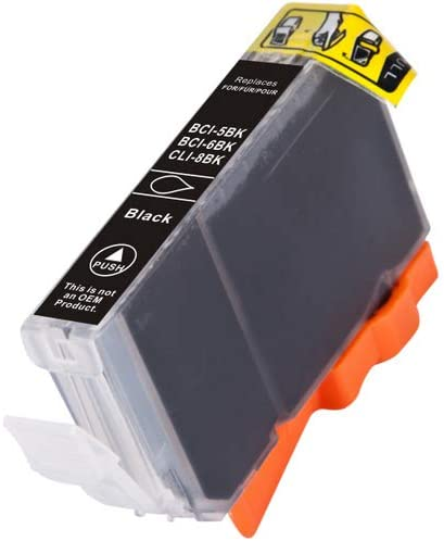 280 Page Yield SuppliesMAX Compatible Replacement for Canon BJC-3000//6000//6100//6500//S400//S4500 Photo Black Inkjet BCI-3EPBK