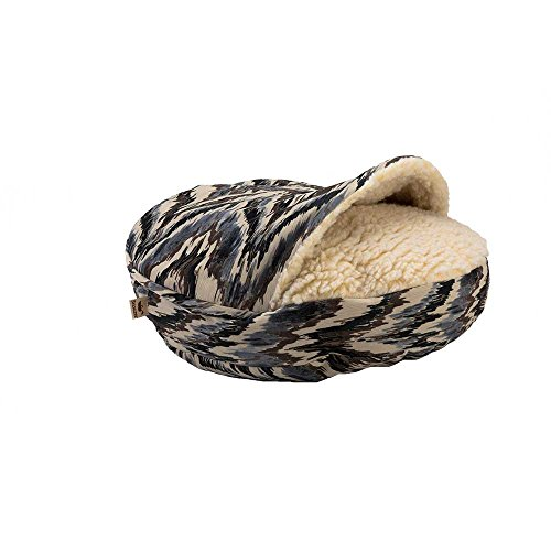 Snoozer Luxury Orthopedic Cozy Cave Pet Bed, Small, Leaf