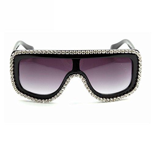 Sol De Señor Sol TIANLIANG04 Bling Mujer Tonalidades Gafas Unas Vintage Gafas Enormes Strass Grandes Eyeware De Gafas Hombres Gafas wxBn1