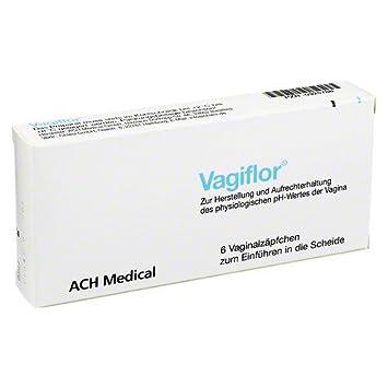Vagiflor Vaginalzäpfchen, 6 St