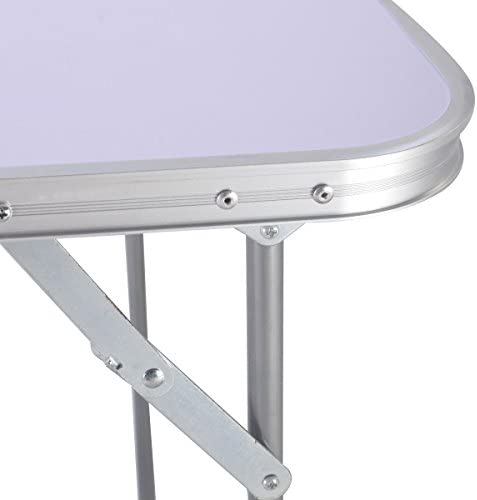 Portable Folding Table In Outdoor Picnic Party Dining Camping Desk