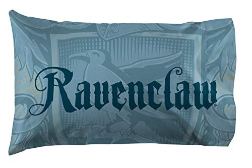 Jay Franco Harry Potter House of Ravenclaw Kids Super Soft Double-Sided 1 Pack Pillowcase (Official Harry Potter Product)