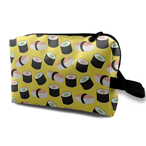 Storage Bag Travel Pouch Sushi Purse Organizer Power Bank Data Wire Cosmetic Stationery Holder