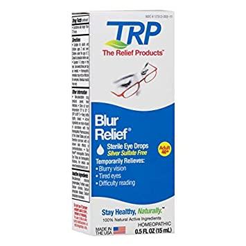 baba76c9d7f6 Amazon.com  TRP Blur Relief Homeopathic Eye Drops