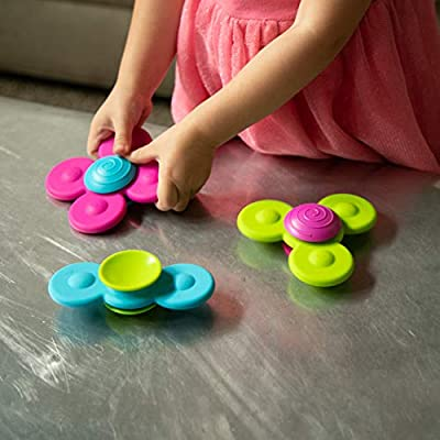 Fat Brain Toys Whirly Squigz: Toys & Games
