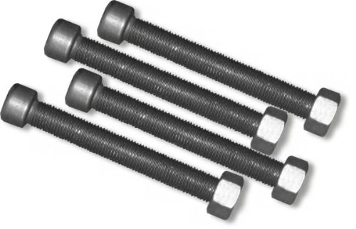 Axle LEAF SPRING CENTER BOLTS (3/8 inch) - SET OF FOUR (4) (4X4 OFF-ROAD VEHICLES) BILLET4X4
