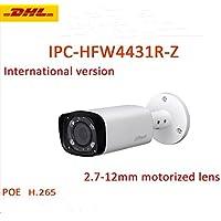Dahua Network Camera HFW4431R-Z 4MP IP Camera POE IP66 Night Version Outdoor ONVIF H.265 Bullet Camera 2.7-12mm Motorized Lens International Version