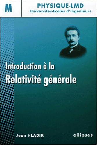 relativite generale livre