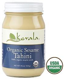 Kevala Organic Tahini 16 oz (Pack of 5)