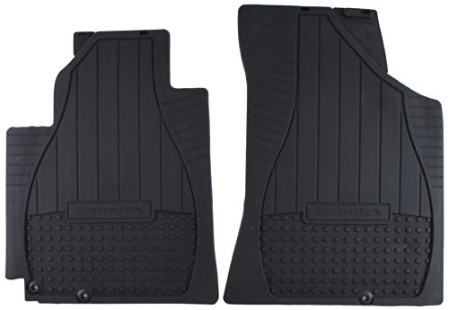 HYUNDAI Genuine Accessories 2B014-ADU00 Front All Weather Floor Mat for Santa Fe