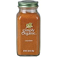 Simply Organic Cayenne Pepper Large Glass, 81g