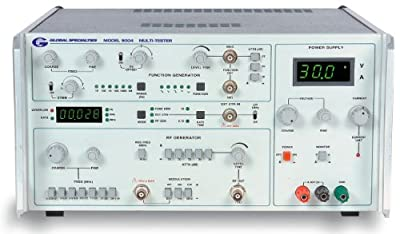 Global Specialties 9004 4 Instrument Test Station, 1Hz to 1 MHz Frequency