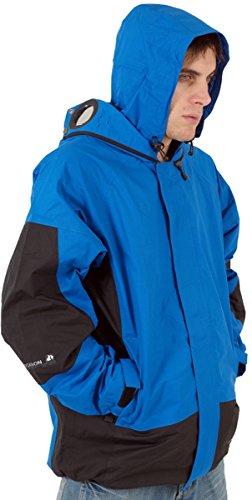 Herren Neue Location Brille Regen Jacke Mantel Mit Kapuze Größe