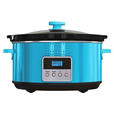 BELLA Dots Collection Programmable Slow Cooker, 5-Quart from D&H Distributing - Sensio Products