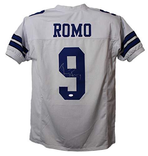 - Tony Romo Autographed Jersey - White XL BAS 22470 - Beckett Authentication - Autographed NFL Jerseys