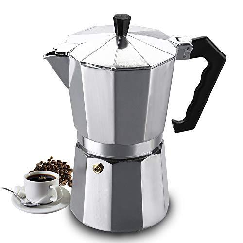 Vinekraft Moka Pot Espresso Maker Stovetop Coffee Maker - 6 cups/300ml