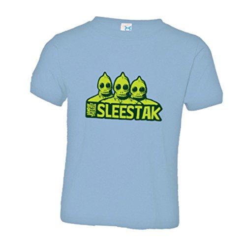 PleaseMeTees Toddler Sleestaks Land of The Lost Monsters HQ Tee-LtBlu-4