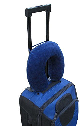 Travelmate Memory Foam Neck Pillow, Dark Blue