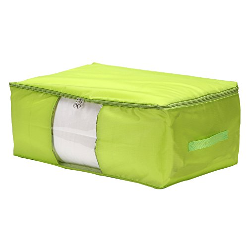 VEAMOR Clothes Storage Containers,Beddings/Blanket Organizer Storage Bags,Breathable and Moistureproof
