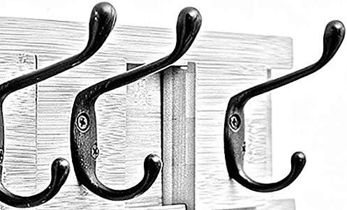Perchero Se Puede Mover Perchero sin Ropa Gancho Bambú Blanco Estilo Europeo Montaje en Pared ZHML (Tamaño: 86.8cm): Amazon.es: Hogar