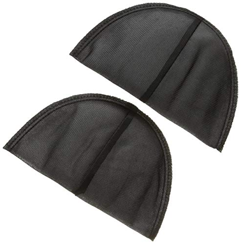 De Shoulder Pads - Dritz 53078-1 Shoulder Pads, Covered Set-in, 1/2-Inch, Black