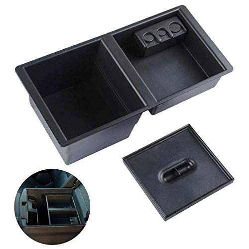 Wadoy Center Console Insert Organizer Tray Replacement for 2014-2019 GM Vehicles Silverado, Tahoe, Suburban, GMC Sierra, Yukon, Escalate Front Floor Insert Tray - Replaces 22817343