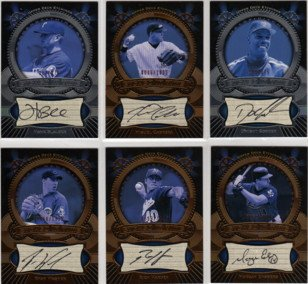 2004 Upper Deck Etchings Etched in Time Autograph Black #HB Hank Blalock Autograph Card Serial #