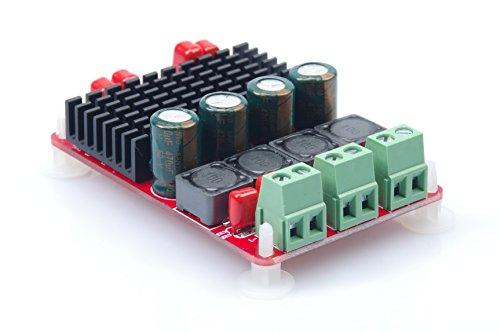 KNACRO 50W+50W TPA3116 Double Track Digital Power Amplifier Board PBTL 100W Single Channel High Power Amplifier Module by KNACRO
