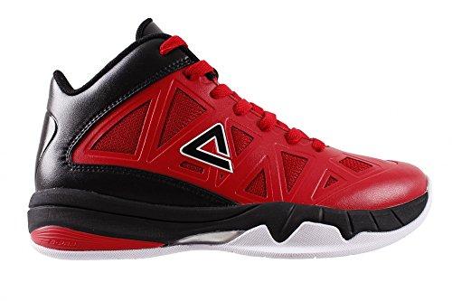 PEAK Basketballschuh Victor Y Red/Black (EW4313A), Größe:(EUR / FR 33)