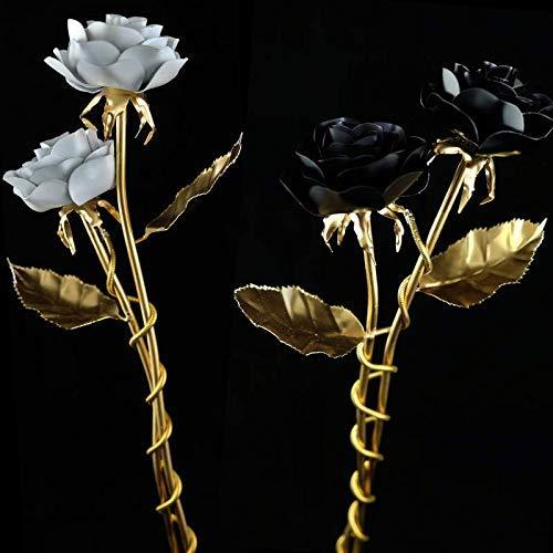 Eine Rose aus Stahl als Geschenk oder zur Dekoration Blume Deko Kunst Hochzeit