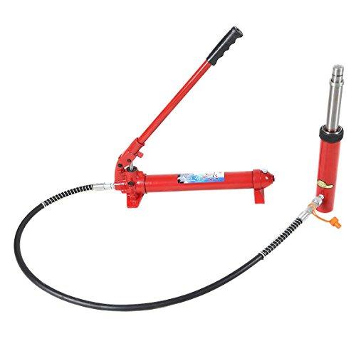 Cherry Picker Jack Parts : Goplus lbs ton hydraulic jack pump ram engine lift