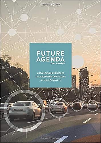 Autonomous Vehicles: The Emerging Landscape Future Agenda ...