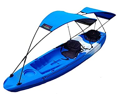 Adventure Canopies Sun Shade for Tandem Kayak