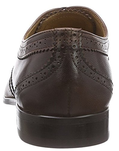 Hemsted & Sons Zapatos Oxford  Marrón Oscuro EU 43