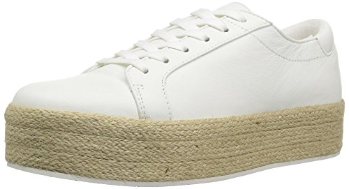 Kenneth Cole New York Dames Allyson Platform Veter Jute Wrap-techni-cole Sneaker Wit