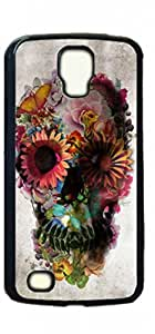 HeartCase Hard Case for Samsung Galaxy S4 Active (i9295 Water Resistant Version) ( Skull Tattoo Partterned )