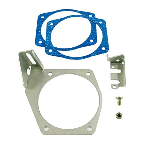 (A-Team Performance Throttle Cable Bracket Compatible with Intakes 92MM 102MM LS LSX LS1 LS2 LS3 LS6 LS7)