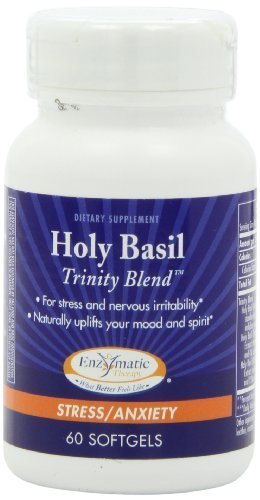Therapy Enzymatic Holy Basil - Enzymatic Therapy Holy Basil Trinity Blend