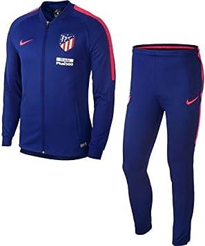 Nike Chándal Fútbol Atletico de Madrid 18/19 Azul Marino Niño ...
