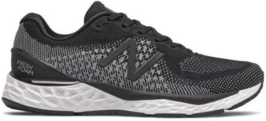 New Balance 880v10 - Zapatillas de running para hombre (negro/blanco, número 10): Amazon.es: Zapatos y complementos