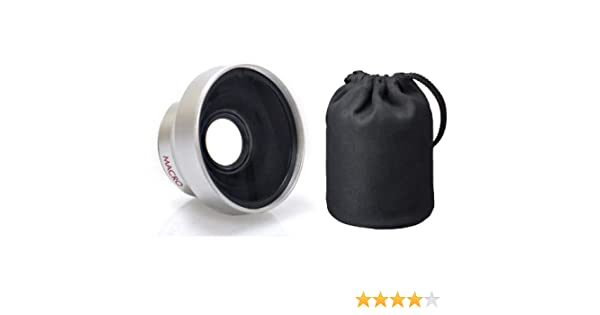 Canon High Definition 0.45x Wide Angle Lens w//Macro 37mm, Wider Alternative To WD-H37 Nwv Direct Microfiber Cleaning Cloth