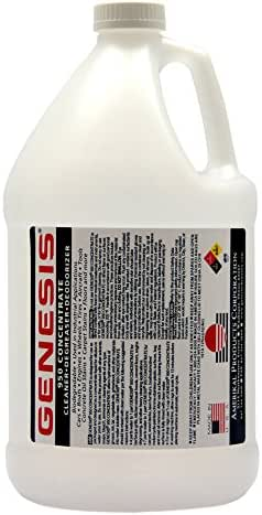Genesis 950 Gallon - Professional Strength Concentrate - Pet Stain and Odor Remover, Spot clean or Use in a Carpet Cleaning Machine on all Carpet Stains, Powerful Green Household Cleaner