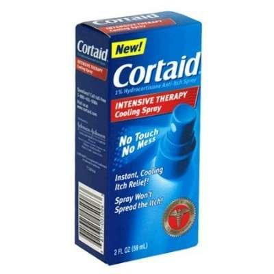 Cortaid Intensive Therapy Cooling Spray, 2-ounce Spray Pump