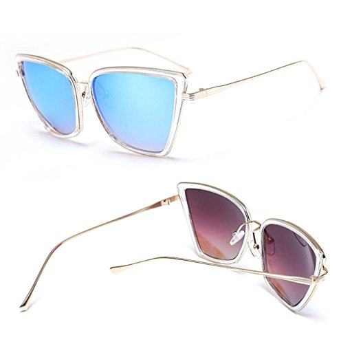 D D UV metal de Anti Beat Gafas mujeres las Marco Alger Street de moda de de Eyewear sol travel T7HcSyfq