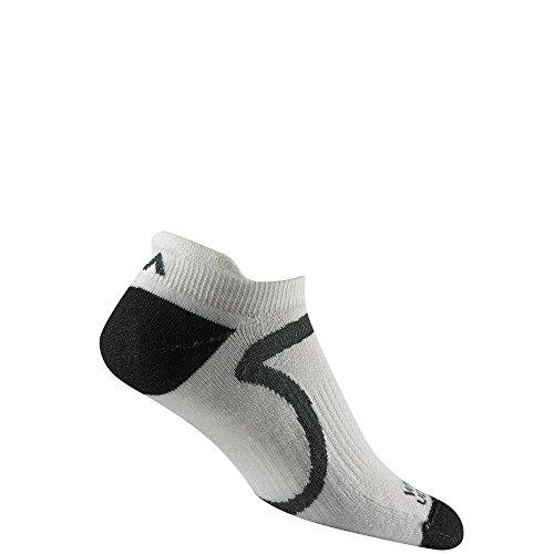 Wigwam Men's Verve Pro Low Cut Lightweight Ultimax Run Sock, white, XL